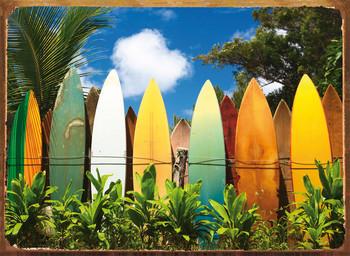 SURFBOARDS Metal Sign