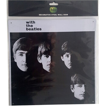 The Beatles - With The Beatles Metal Sign