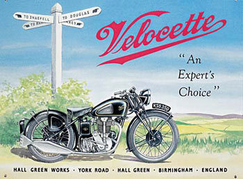 VELOCETTE Metal Sign
