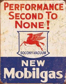 Metallikyltti Mobil Gas - 2nd to None