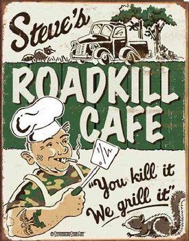 Metallikyltti SCHOENBERG - Steve's Cafe
