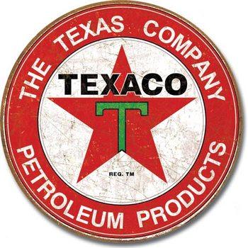 Metallikyltti TEXACO - The Texas Company