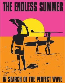 Metallikyltti THE ENDLESS SUMMER - In Search Of The Perfect Wave