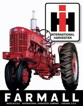 Metalllilaatta Farmall 405