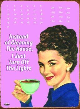 Metalllilaatta INSTEAD OF CLEANING