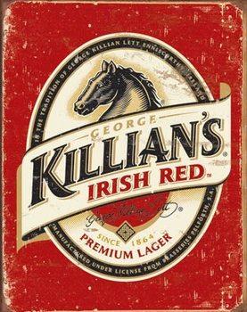 Metalllilaatta Killian's Beer Logo