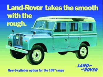 Metalllilaatta  Land Rover series 2A