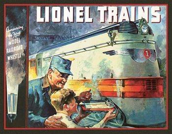 Metalllilaatta  Lionel 1935 Cover