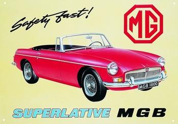 Metalllilaatta MGB
