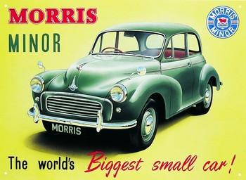 Metalllilaatta  Morris minor 1000