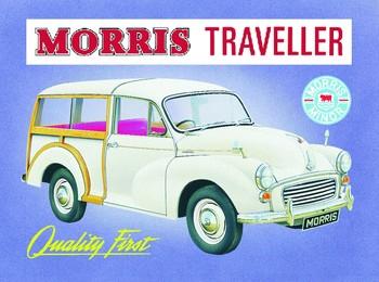 Metalllilaatta  Morris traveler