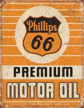 Metalllilaatta Phillips 66 - Premium Oil