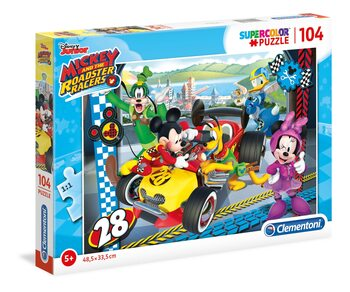 Palapeli Mickey and The Roadster Racers