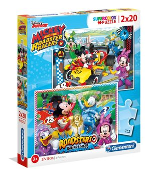 Puzzle Mickey Mouse - The Roadster Racers