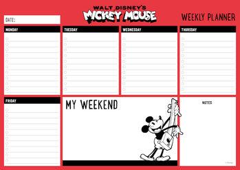 Viikkokalenteri Mikki Hiiri (Mickey Mouse)