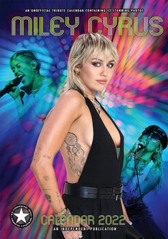 Calendar 2022 Miley Cyrus