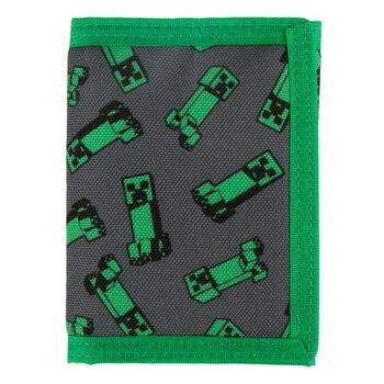 Wallet Minecraft - Creeper Crowd
