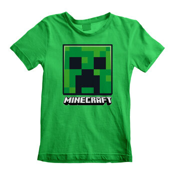 T-shirt Minecraft - Creeper Face