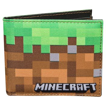 Wallet Minecraft - Dirt Block