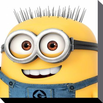 Minions (Despicable Me) - Jerry Close Up - Canvas Print