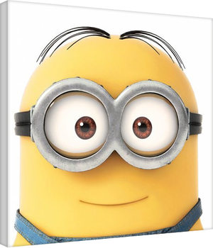 Minions (Despicable Me) - Smile Canvas Print