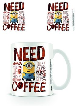 Caneca Minions - Need Coffee