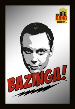 MIRRORS - big bang theory / bazinga Mirror