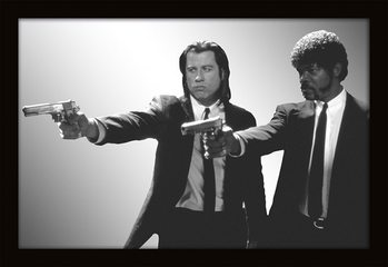 MIRRORS - pulp fiction / guns Mirror
