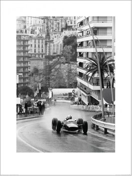 Monaco Grand Prix Reproduction d'art