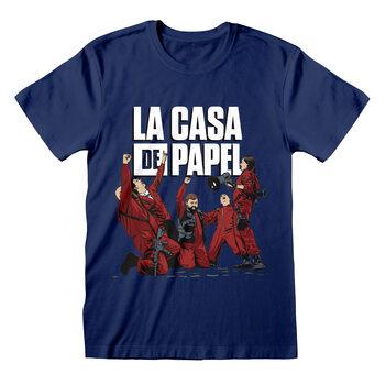 T-paita Money Heist (La Casa De Papel) - Celebrating