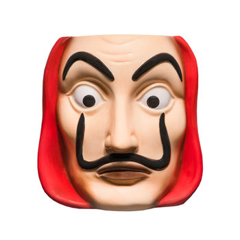 Mug Money Heist (La Casa De Papel) - Mask