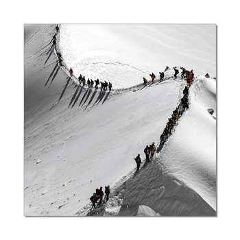 Mountains - Mountain Hike Tableau Multi-Toiles