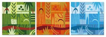 Art - Colorful World Mounted Art Print