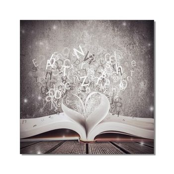 Book Mounted Art Print