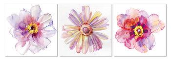 Flower Mounted Art Print