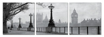 London - Westminster Palace Mounted Art Print
