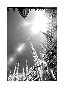 Milan - Duomo di Milano Mounted Art Print
