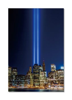 New York - Tribute in Light Mounted Art Print