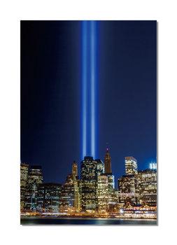 New York - Tribute in Light Mounted Art Print