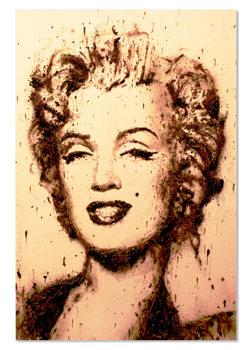Portrait - Marilyn Monroe Mounted Art Print