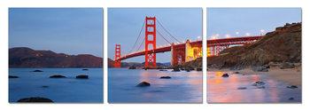 San Francisco - Golden Gate Mounted Art Print