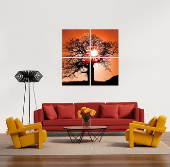 Tree of life Mounted Art Print