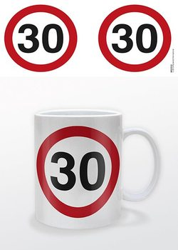Ages - 30 Traffic Sign Mug