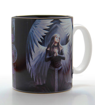 Anne Stokes - prayer for fallen Mug
