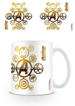 Avengers Infinity War - Connecting Icons Mug