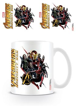 Avengers Infinity War - Ready For Action Mug