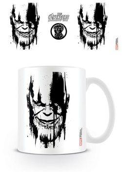 Avengers Infinity War - Thanos Stencil Drip Mug