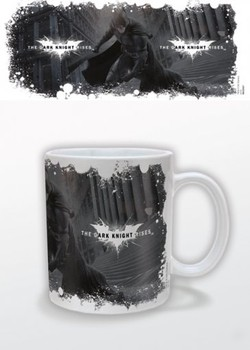 Batman: The Dark Knight Rises - White Logo Mug