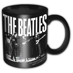 Beatles - Palladium 1963 Black Mug