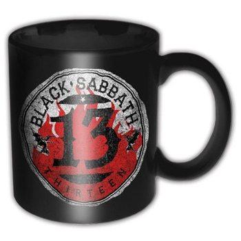 Black Sabbath - 13 Flame Circle Mug